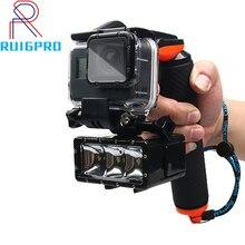 תריס הדק צף יד אחיזת צלילה ציפה מקל עבור GoPro גיבור 8 7 6 5 4 sj5000 XiaomI yi4k ספורט אביזרי מצלמה