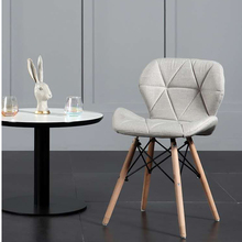 Butterfly Chair Furniture Comfortable Dining-Chairsmodernsolid Restaurant Wood Simplenordicbackrestpu