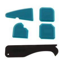 Three-In-One Glass Glue Scraper Yin And Yang Angle Shovel Glue Plastic Scraper