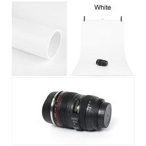 Image 2 - 68x130cm 흰색 PVC 소재 안티 링클 배경 사진 스튜디오 사진 배경 장비에 대 한 배경