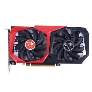 Colorido GeForce GTX 1650 SUPER NB 4G-V GDDR6 128Bit 1530Mhz/1725Mhz DP + + HDMI + DVI 12Nm juegos de Video Tarjeta de imagen