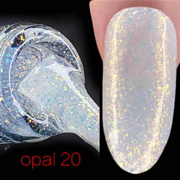 FRANCHESKA Kuku Starlight Opal Uv Gel Fototerapi Cat Kuku Baru Flash Bubuk Kuku Gel Polish 8ml TSLM1