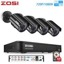 ZOSI 8ch video surveillance 720P 1080N AHD TVI Security Syst