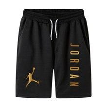 2021 Men Casual Breathable Quick Dry Pants Beach Shorts Jordan Sport Shorts Men's Short Summer Men's 5 Points Shorts Gym Shorts