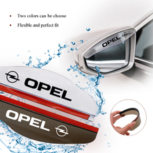 Transparent Universal Car Sun Visor Rain Brow Rearview Mirror Cover Flexible PVC for Opel