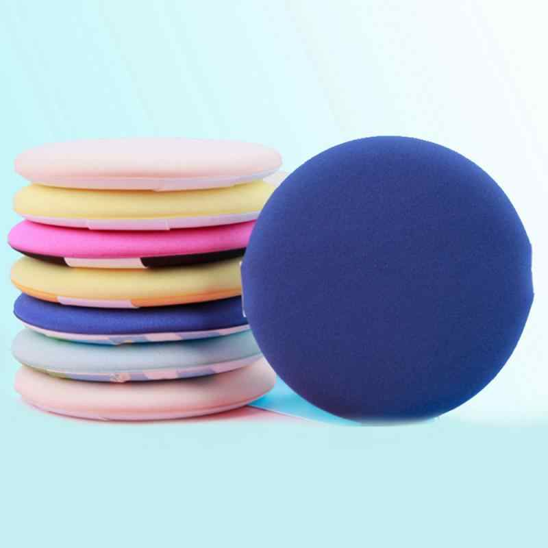5PCS Soft Facial Beauty Sponge Powder Puff Pads Face Foundation Cosmetic Tool Portable Soft Cosmetic Puff Random Color