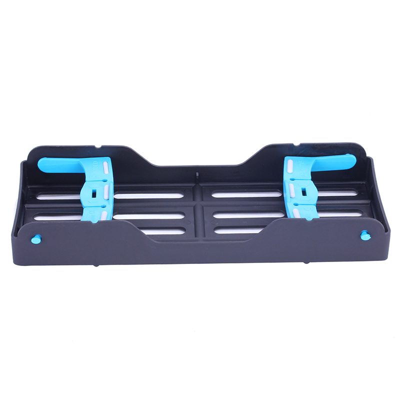 Dental Plastic Sterilization Rack Surgical Instrument Sterilization Box Disinfection Box Dentist Tools