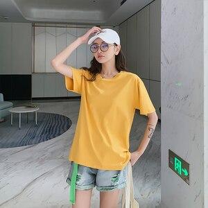 2020 новая стильная женская футболка с принтом, модная футболка, милая мультяшная футболка, топы в Корейском стиле