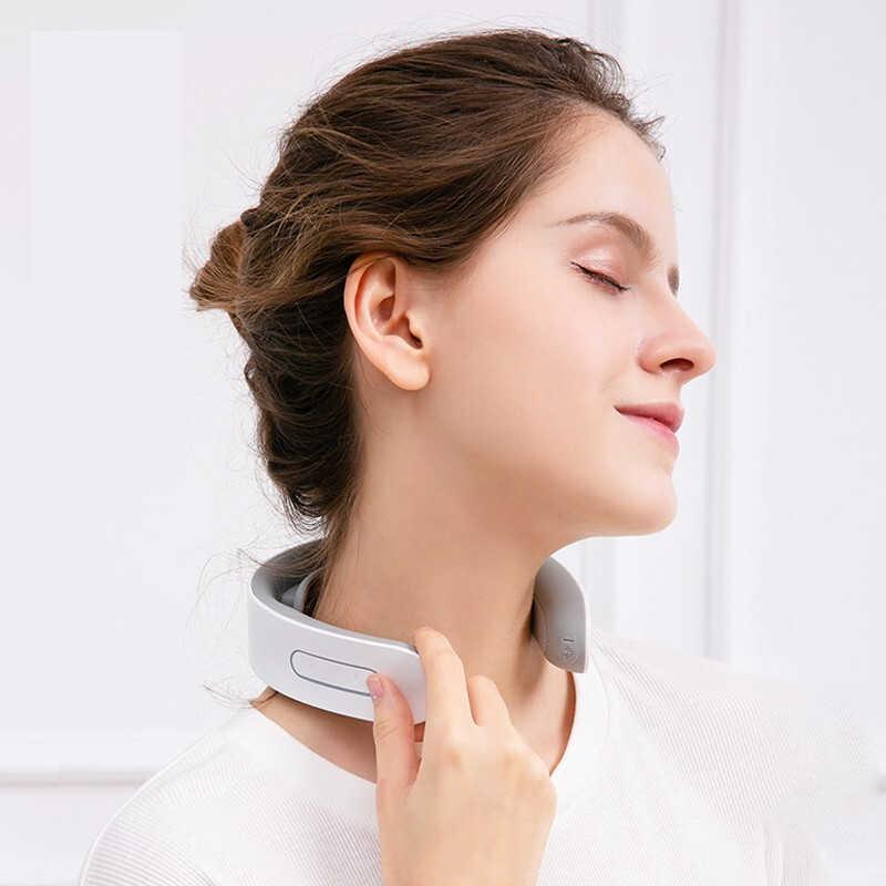 KONKA מיני חכם חשמלי צוואר וכתף לעיסוי כאב הקלה כלי הרפיה בריאות פיזיותרפיה חוליית צוואר