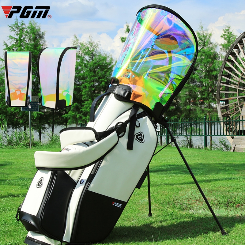 PGM Golf Bag Rain Cover Waterproof Hood Protection Lightweight Club Bags Raincoat Transparent Colorful Protector Supplies