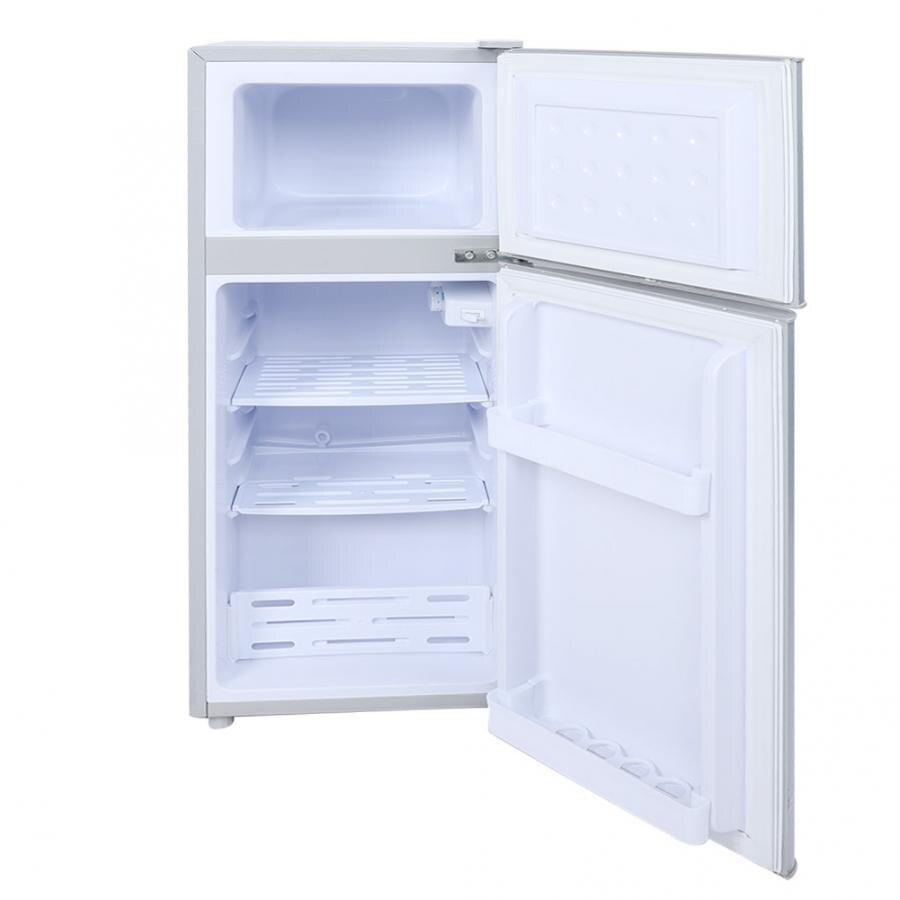 Double Door Fridge Large Capacity Freezer Food Storage Refrigerator For Home