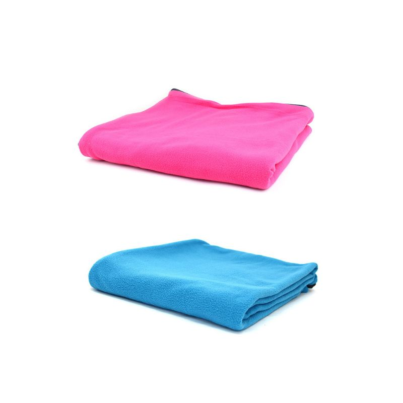 Fleece Sleeping Camping Bag Liner for Adult Soft Warm or Cold Weather Long Liner