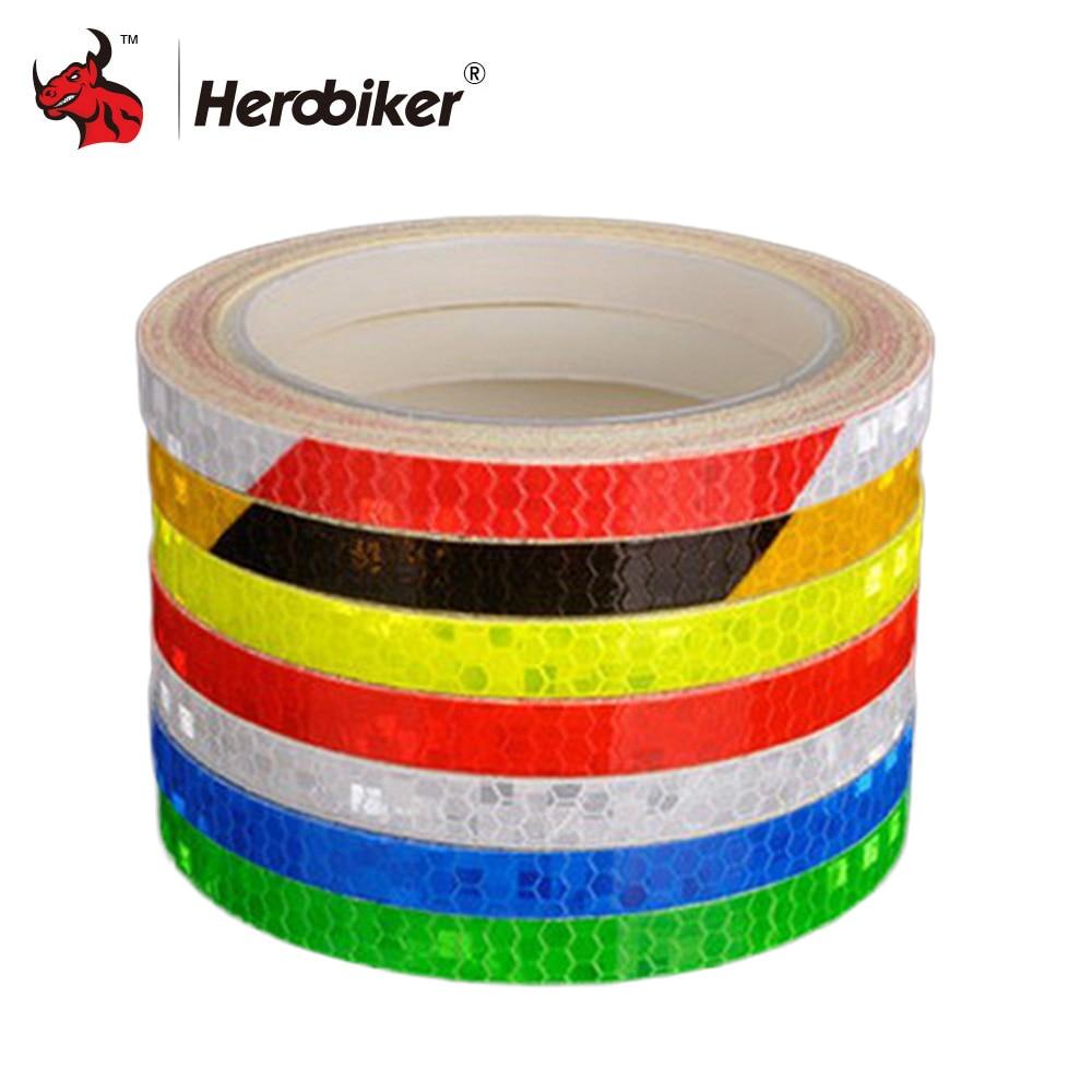 Wheel Decals Safety Alert Strips Reflect Tape Reflective Rim Stickers