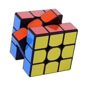 Image 5 - Magie Cube Yuxin Wenig Magie 3x3x3 Zauberwürfel Geschwindigkeit Magic Cube für Herausfordernde Geschenk Spielzeug Bunte