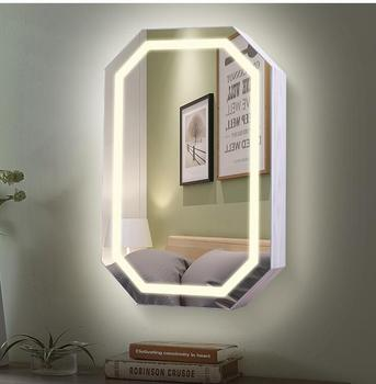 Mirror Dressing Mirror Household Mirror with Storage rack Wall Dressing Mirror Cabinet Hang Mirror Jewelry