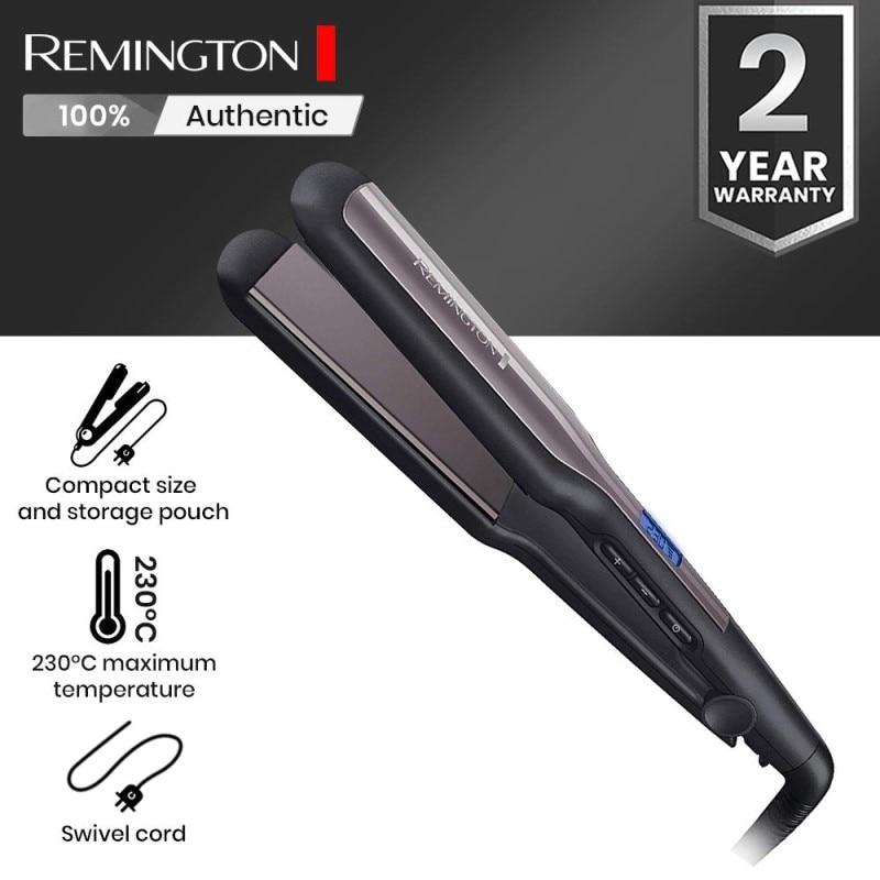 ORGINAL Remington S5525 Hair Straightener 15 sec. Fast Warming Ceramic Heating Wide Plate Straightening Irons