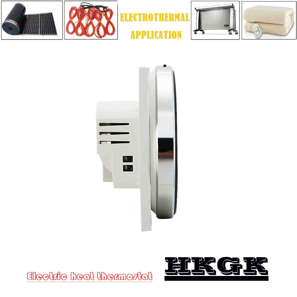16A  Electric Heating Thermostat With External Sensor