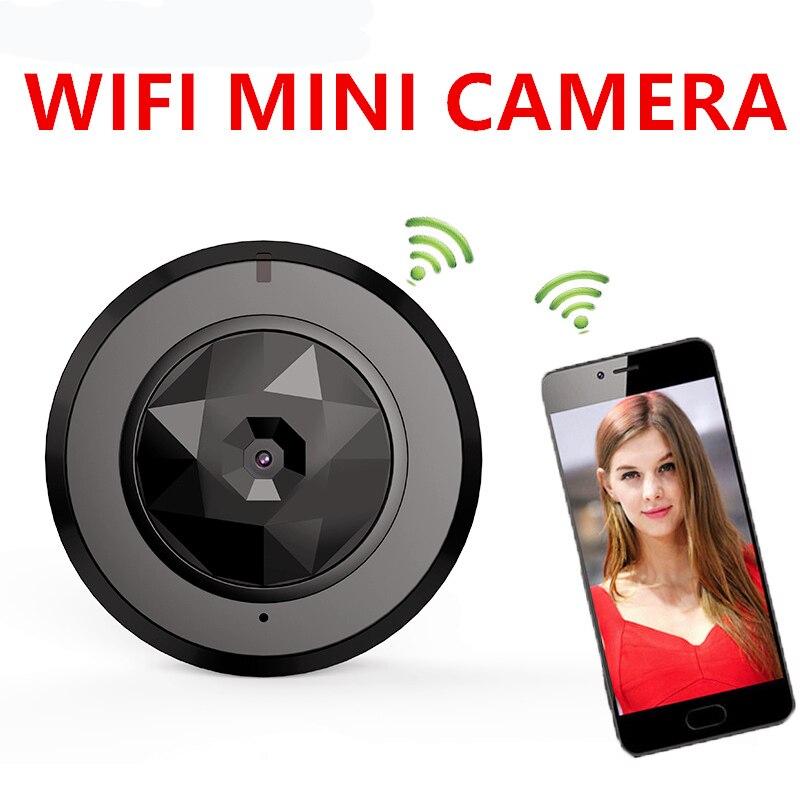 Mini Security Camera HD 1080P WiFi P2P Car Camcorder Infrared IR-Cut Night Vision Motion Detection Live Camera Sport Pocket Cam