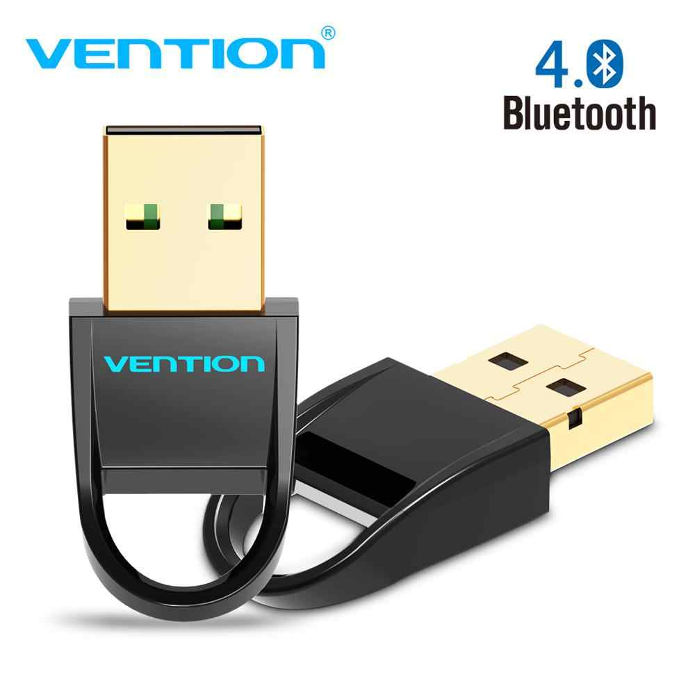 Convenio adaptador Bluetooth USB V4.0 de modo Dual adaptador de antena inalámbrico CRS adaptador del receptor de Audio para Win7/8/XP Tablet PC