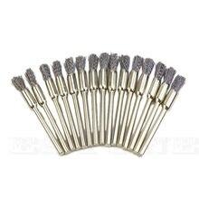 15x Сталь карандаш проволочное колесо чашки аксессуары для кистей