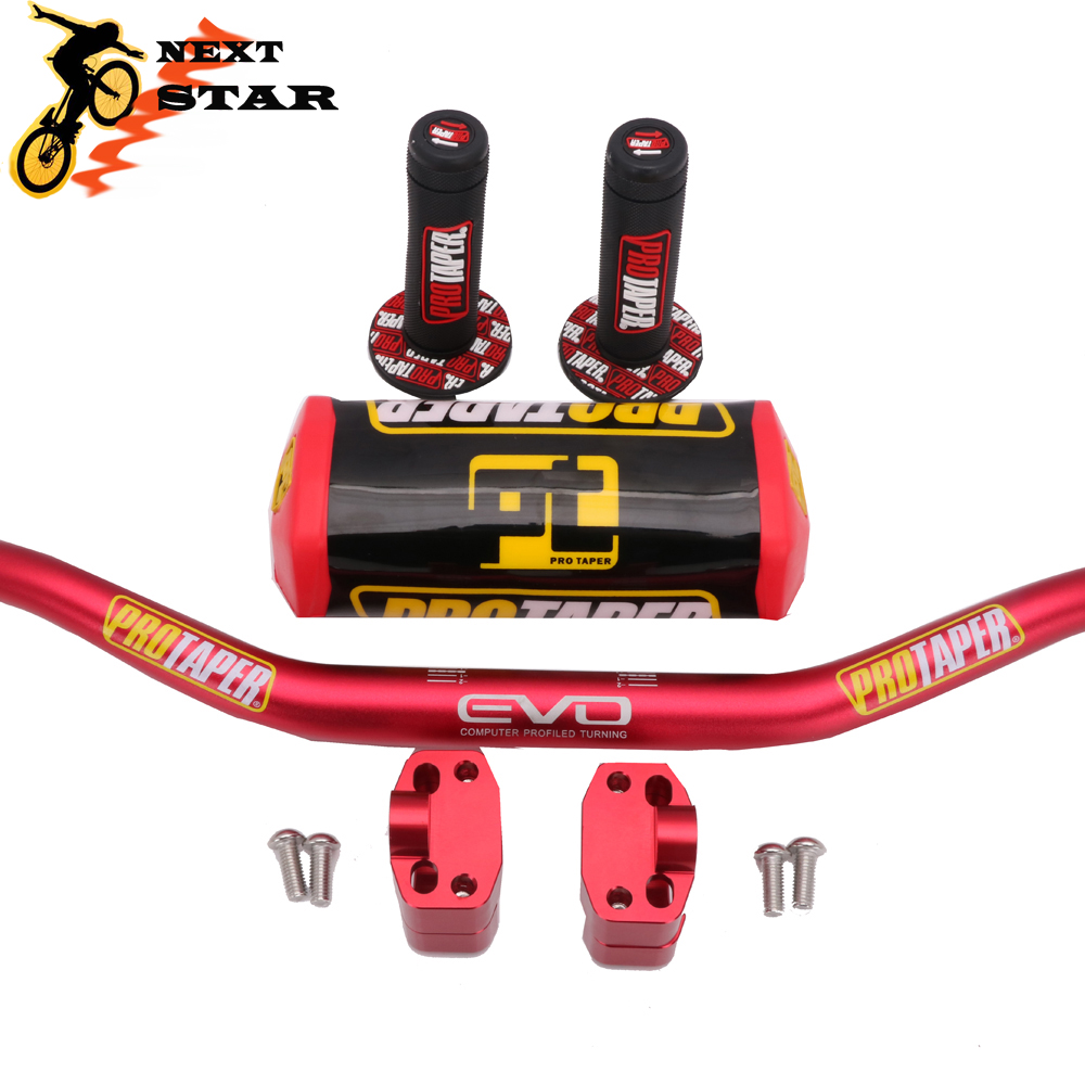 Handlebar-Bar Clamps-Pad Dirt-Bike Protaper RMZ KTM CRF KLX Yamaha Motorcycle-1 Honda title=