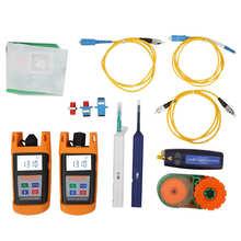 Tool Kit Loss Test Fiber Optic Power Meter Optical Light Source Industry Sensor Fiber Optic Communication Equipment