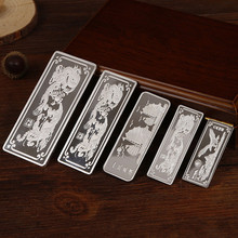 999 Sterling Silver Investment Bars Sailing Five Styles High-end Birthday Gift Ring Material Collection