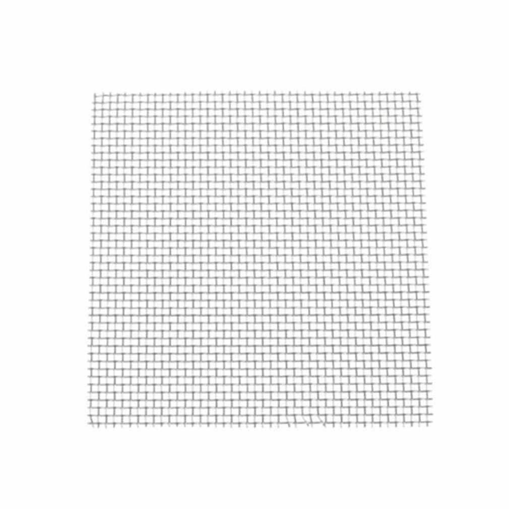 Trou de la feuille 1mm de maille en métal de la preuve 8*8cm de rongeur tissé par maille de tapis d'herbe d'aquarium d'acier inoxydable de 1pc pour la Ventilation d'air