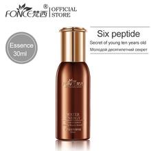 Fonce Six Peptides Face Anti Wrinkle Essence 30ml Moisturizing Lifting Firming Facial Serum Anti Aging Ageless Nourish Skin Care