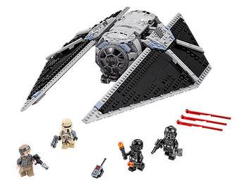 05048 Star Wars Series Lepining Starwars 75154 Tie Striker Fighter Model Building Blocks Toys for Children Gift 1
