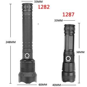 Image 3 - Litwod Z92 1282 50000lm 강력한 전술 LED 손전등 토치 라이트 크리어 XHP70.2 18650 26650 충전식 배터리 랜턴