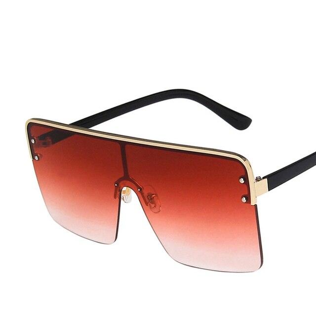 Фото очки солнцезащитные женские с градиентными линзами стильные
