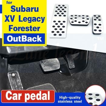 Auto Cover Accelerator Brake Foot Rest Pedal Pad For Subaru XV Legacy Forester OutBack Tribeca Levorg WRX STI Impreza AT kinugawa turbo s baru legacy forester liberty wrx 08 td06h 20g replace ihi vf40 vf46 vf52