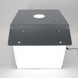 Image 4 - Nowy SANOTO 40cm namiot do zdjęć fotografia tło przenośny Softbox LED Light budka foto fold Photo Studio miękkie pudełko