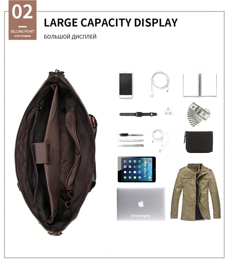 H2fca101758b644bcbdff2138b278f0364 MVA Male briefcase/Bag men's genuine leather bag for men leather laptop bags office bags for men Crocodile Pattern handbag 5555