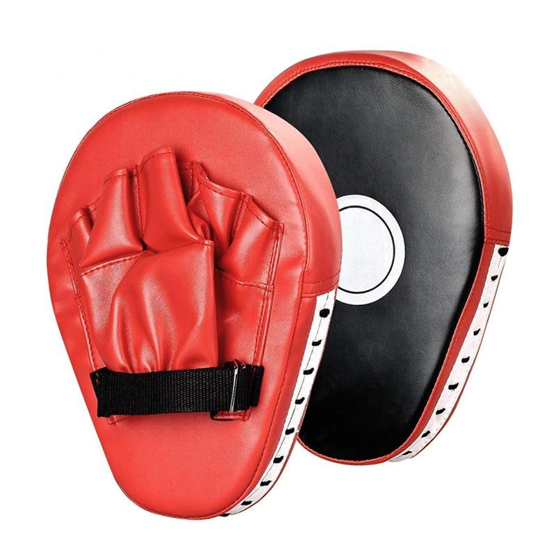 Boxing Target Kick Boxing Gloves Pad Punch Target Bag Men MMA PU Karate Muay Thai Free Fight Sanda Training Focus Punching Mitts