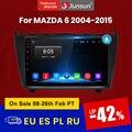 Junsun V1 2 ГБ + 32 ГБ, Android 10 DSP автомобильный Радио Мультимедиа Видео плеер для Mazda 6 2007 2008 - 2012 GPS навигация GPS 2 Дина DVD RDS