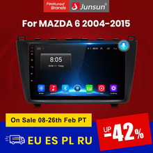 Junsun V1 2G + 32G أندرويد 10 DSP راديو السيارة الوسائط المتعددة مشغل فيديو لمازدا 6 2007 2008 - 2012 الملاحة لتحديد المواقع 2 الدين DVD RDS