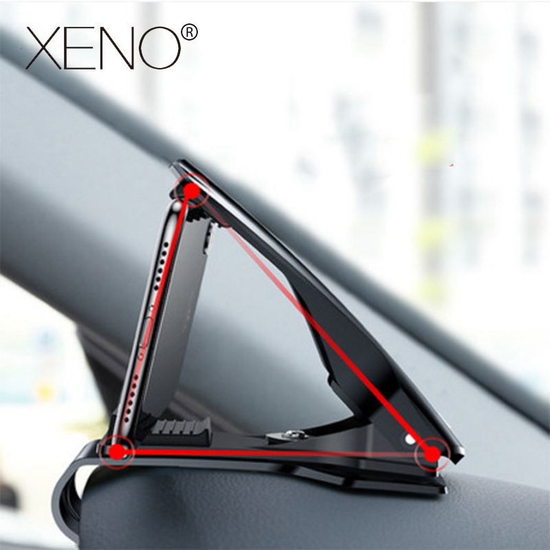 6.5inch Dashboard Car Holder Easy Clip Phone Universal Cradle Mobile Hud XS