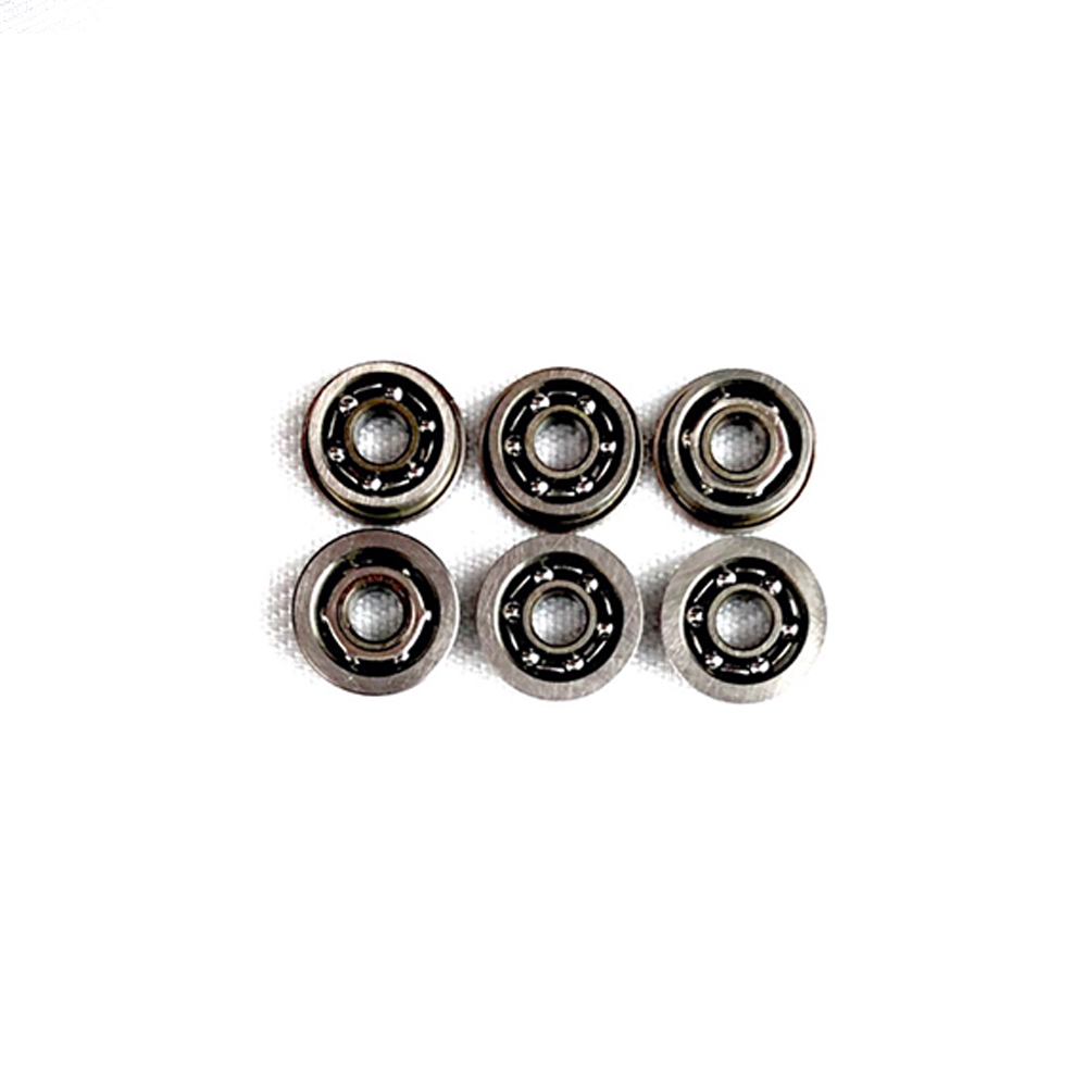 6pcs Stainless Steel Ball Bearing For Airsoft AEG Gel Blaster Gearbox Paintball Accessories 6mm/7mm/8mm/9mm
