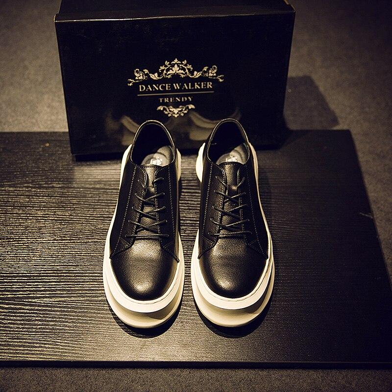 Men Sneakers White Classic Comfort Trend Men Casual Shoes Super Confident Man Platform Sneakers 2019 Basketball Man V16-16
