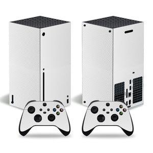 Image 4 - סיבי פחמן מדבקה מכירה לוהטת מדבקת עבור Xbox סדרת X קונסולת מדבקת עור עבור Xbox סדרת X בקר מדבקות