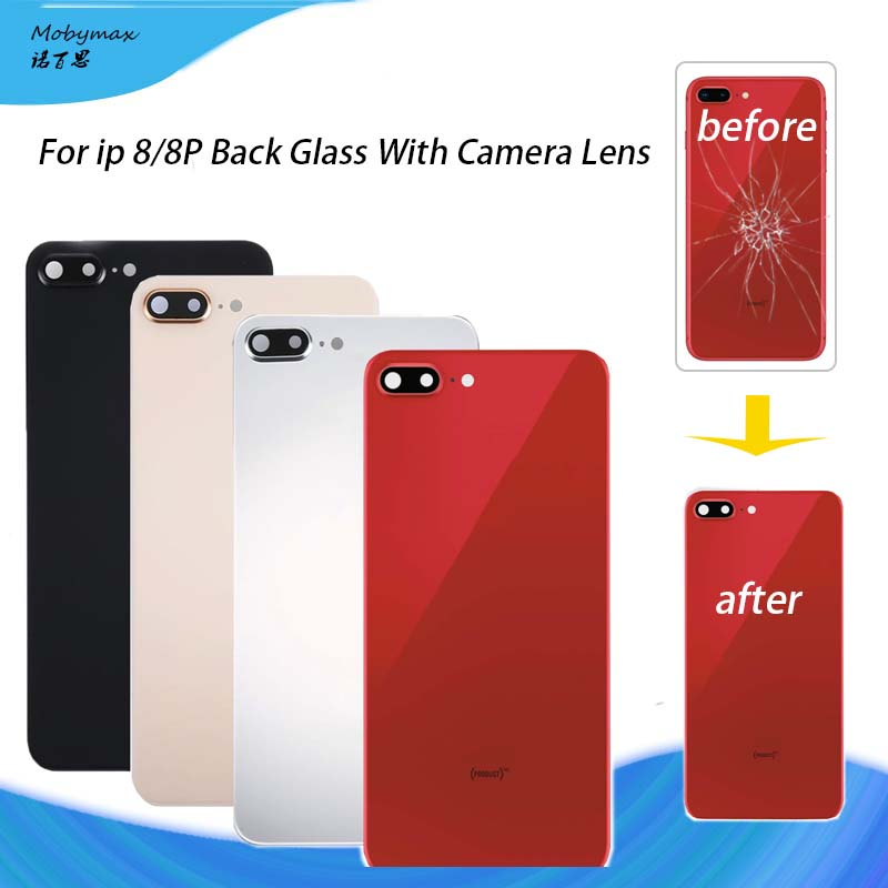 Assemble Housing-Replacement-Parts Rear-Housing Camera-Lens Back-Cover Glass 8plus iPhone 8