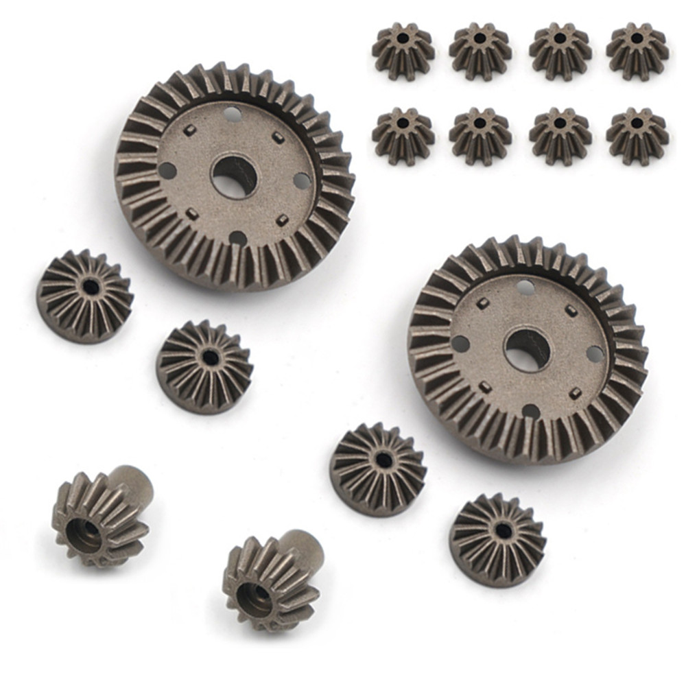 ​16pcs/Set <font><b>Metal</b></font> Differential Gear Tooth Upgrade Rear Drive Shaft for 1:12 WLtoys <font><b>12428</b></font> 12423 RC Car Monster Truck Parts image