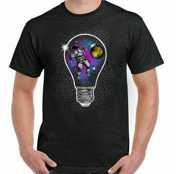 Astronauta koszulka NASA Zero Gravity mężczyzna zabawna kosmiczna nauka statek kosmiczny Geek tanie i dobre opinie Na zakupy CN (pochodzenie) Na wiosnę i lato Z okrągłym kołnierzykiem tops SHORT COTTON Na co dzień Drukuj
