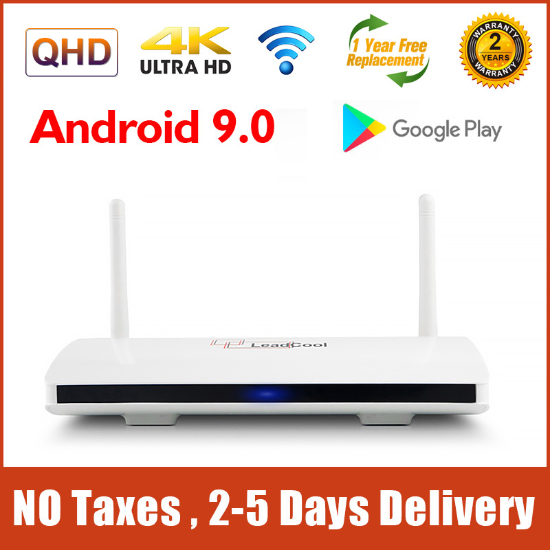 4K Leadcool Smart TV Box Android 9 0 S905W Quad Core 2G 16G Support 2 4G Wifi 1G 8G Leadcool Android Set top Box