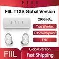 FIIL T1XS TWS True Wireless Earphones IPX5 Sport Bluetooth In-Ear Headsets Dual Mic Noise Cancelling HIFI Earbuds Global Version