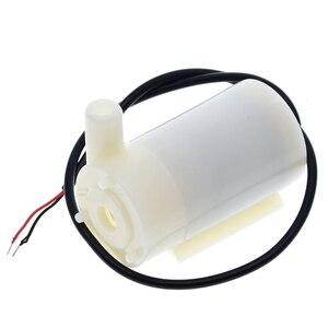 Image 5 - Mute Mini Micro Motor de La Bomba Sumergible Bombas De Agua DC 3 5 V 70 120L/H unidad USB