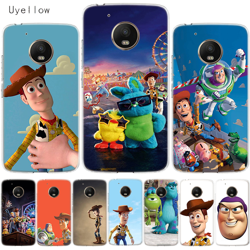 Uyellow Toy Story 4 Buzz Cover For Motorola G4 G5 G5S G6 G7 E4 E5 Plus Play Phone Case For Moto G7 Power Silicone Coque Shell in Fitted Cases from Cellphones Telecommunications