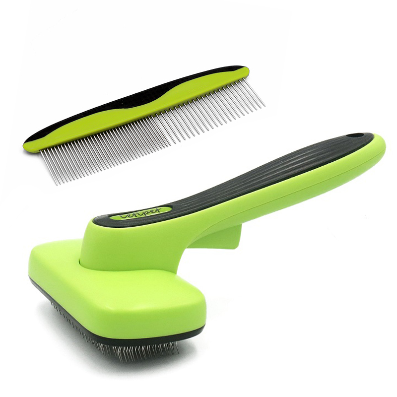 Dog Cleaning Grooming Brush Retractable Floating Hair Brushes Pet Automatic Hair Removal Comb For Large Medium Cats Dogs Sets